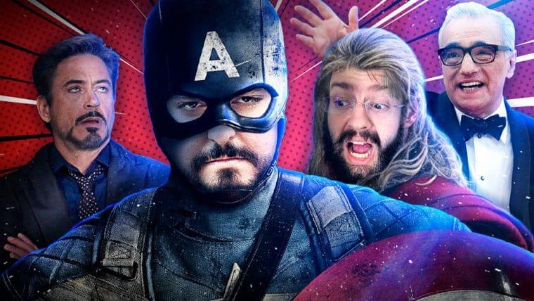 Marvel não é cinema?