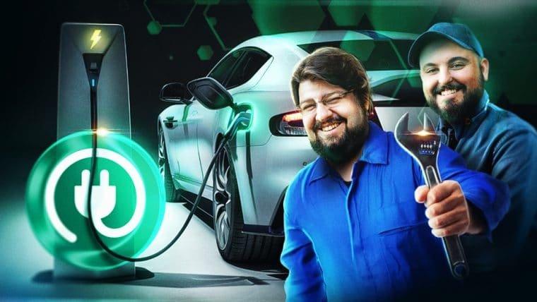 Conhecendo um carro elétrico híbrido