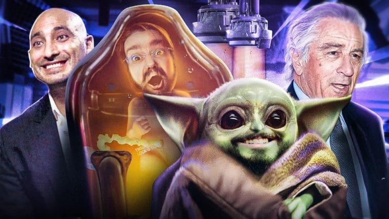 Baby Yoda e o pai solteiro