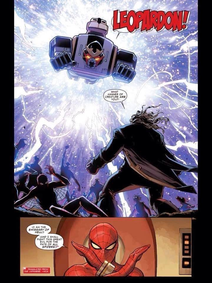Homem-Aranha tokusatsu no arco Aranhaverso