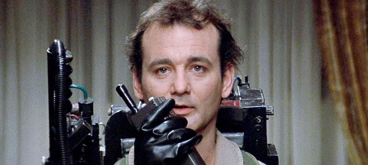 Bill Murray estará no elenco da sequência de Os Caça-Fantasmas, segundo Dan Aykroyd