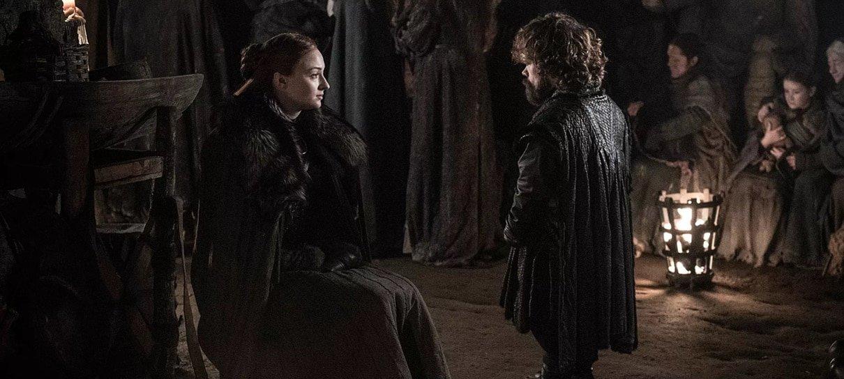 Cena deletada de Game of Thrones mostra Sansa e Tyrion nas criptas de Winterfell