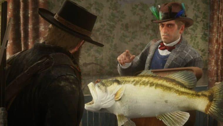 Depois de um ano, jogadores encontram último peixe lendário de Red Dead Redemption 2
