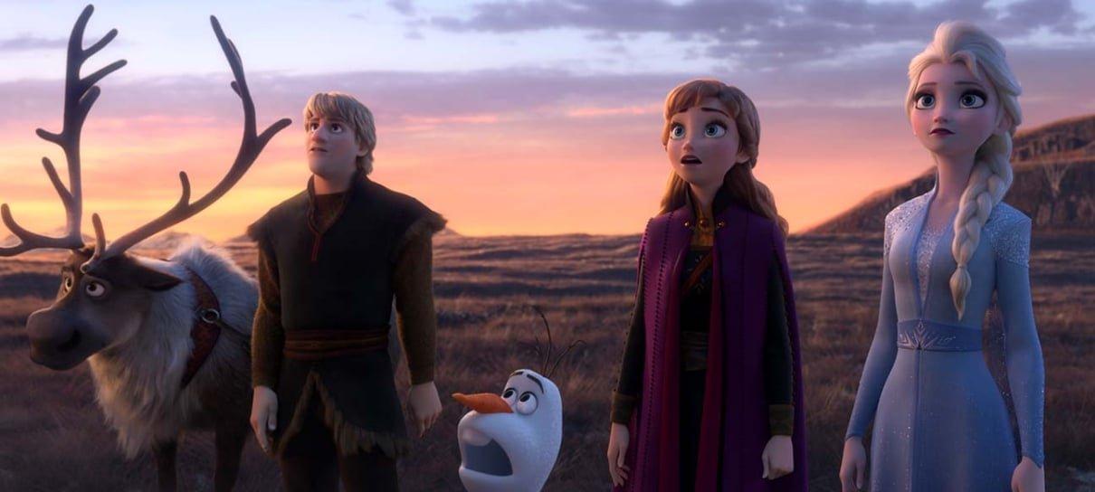 Frozen 2 chega aos Estados Unidos em primeiro lugar nas bilheterias