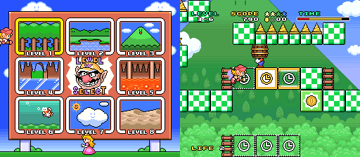 Mario and Wario Game Freak