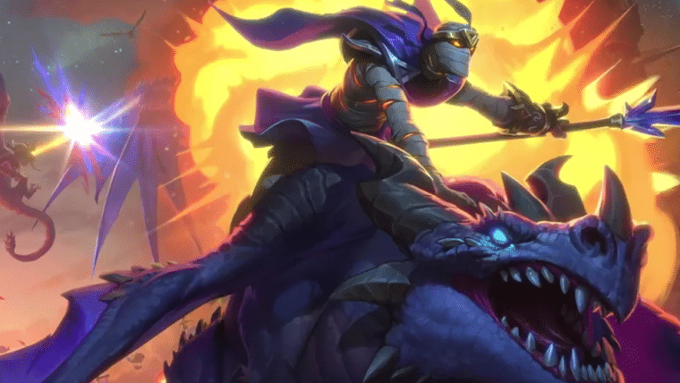Hearthstone anuncia novo modo de jogo e expansão Despontar dos Dragões