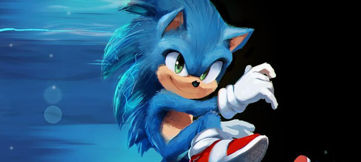 Ilustrador de Sonic Mania ajudou a construir o novo visual do ouriço no filme