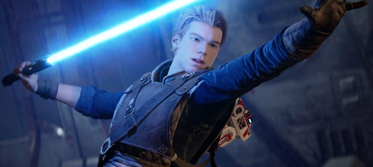 Streamer cria um sabre de luz para jogar Star Wars Jedi: Fallen Order
