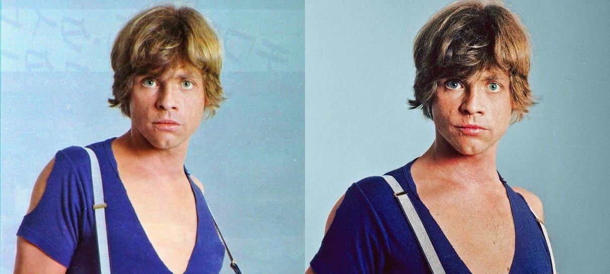 Mark Hamill explica história de fotos dos bastidores de Star Wars: O Império Contra-Ataca