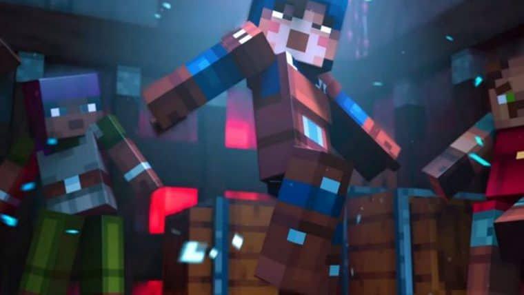 Minecraft Dungeons | Novo teaser anuncia o mês de lançamento