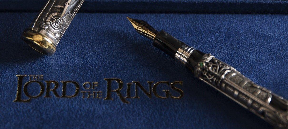 Montegrappa lança caneta temática de Senhor dos Anéis cheia de referências