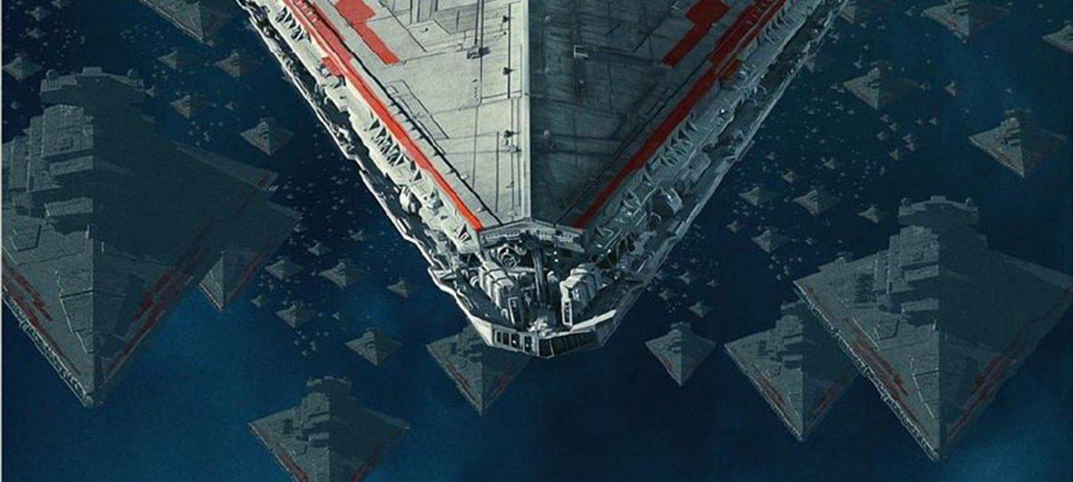Novo pôster de Star Wars: A Ascensão Skywalker destaca naves imperiais