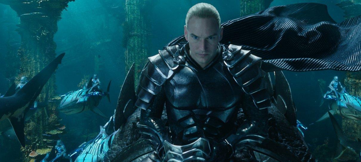 Aquaman 2 | Patrick Wilson voltará a viver o Rei Orm