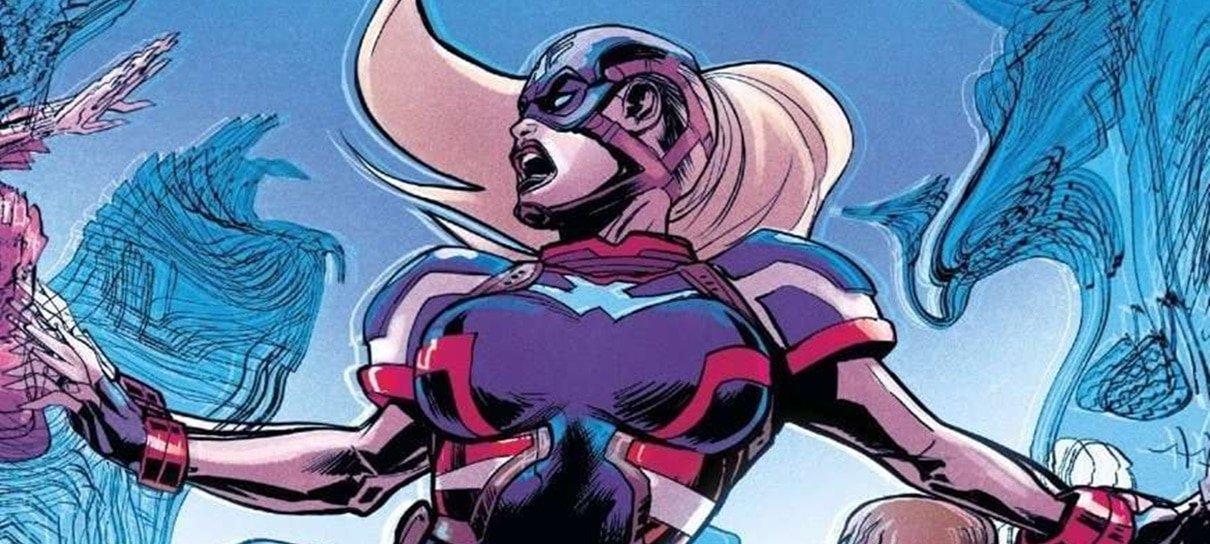 Próximo Capitão América dos quadrinhos será uma mulher