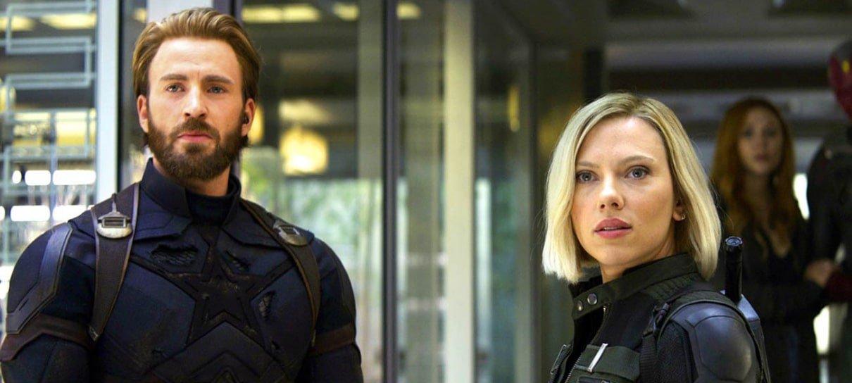 Chris Evans e Scarlett Johansson defendem filmes da Marvel