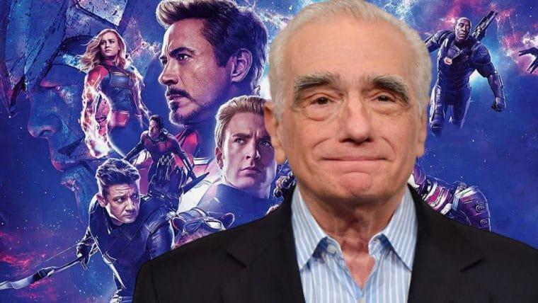 Martin Scorsese explica o que quis dizer sobre os filmes da Marvel