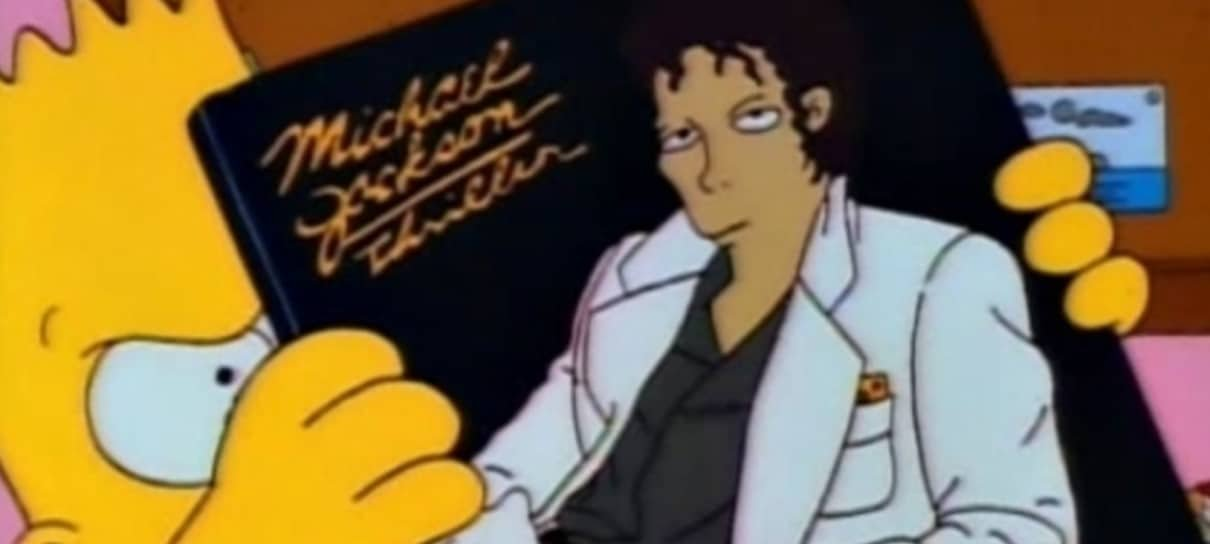 Disney+ exclui episódio de Simpsons com Michael Jackson do catálogo