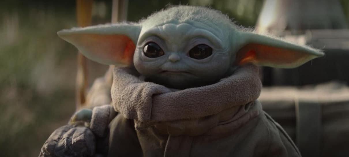 The Mandalorian   Jon Favreau revela cena dos bastidores com o Baby Yoda