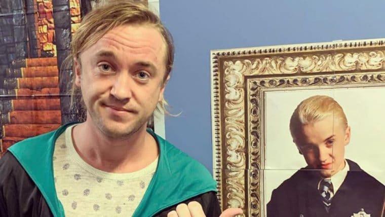 Harry Potter | Tom Felton relembra Draco Malfoy e reclama de envelhecer
