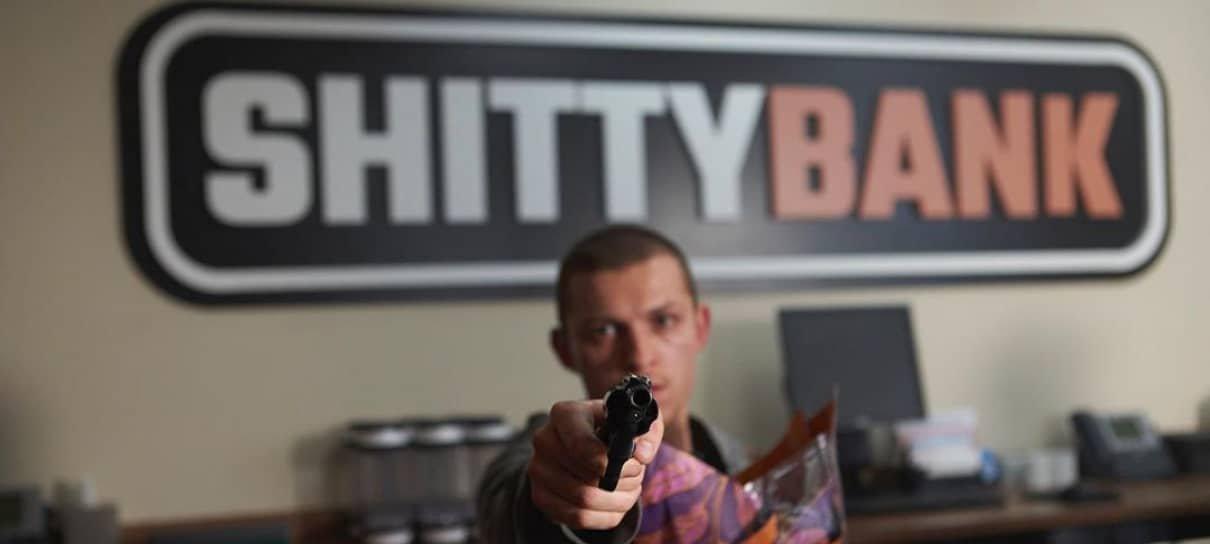 Cherry   Tom Holland assalta um banco em foto do novo filme dos irmãos Russo