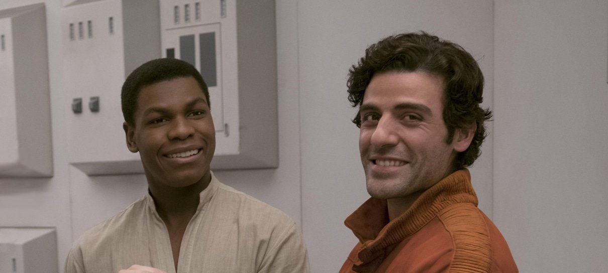 Star Wars | John Boyega se declara para Oscar Isaac em vídeo hilário