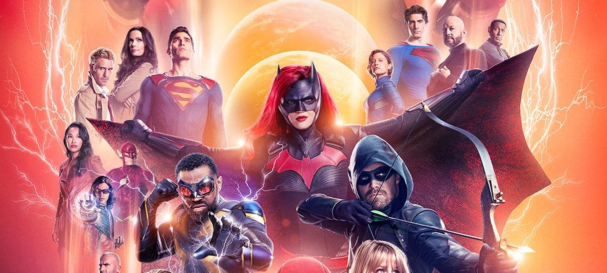 Crise nas Infinitas Terras une as séries da DC em novo cartaz e sinopses