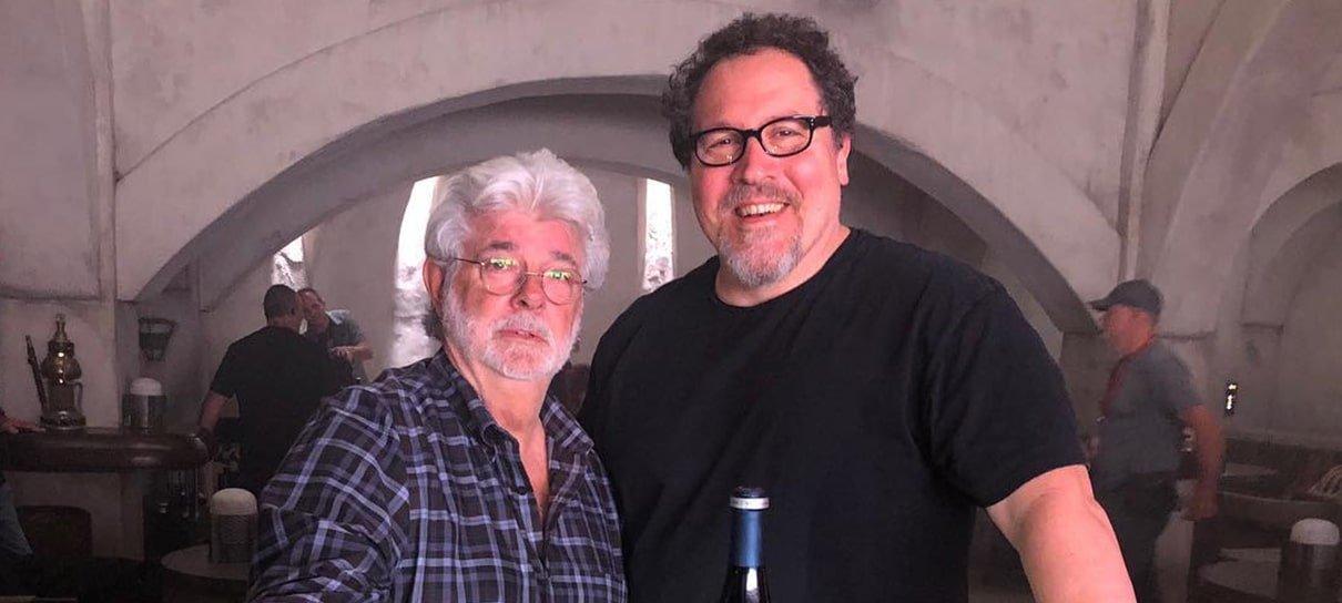 George Lucas aprovou The Mandalorian, afirma CEO da Disney