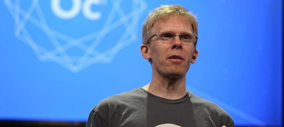 John Carmack deixa cargo na Oculus para trabalhar com Inteligência Artificial