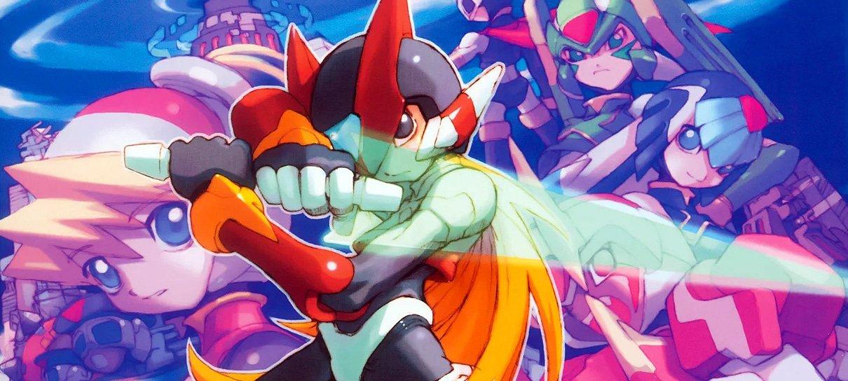 Mega Man Zero/ZX Legacy Collection é adiado em um mês