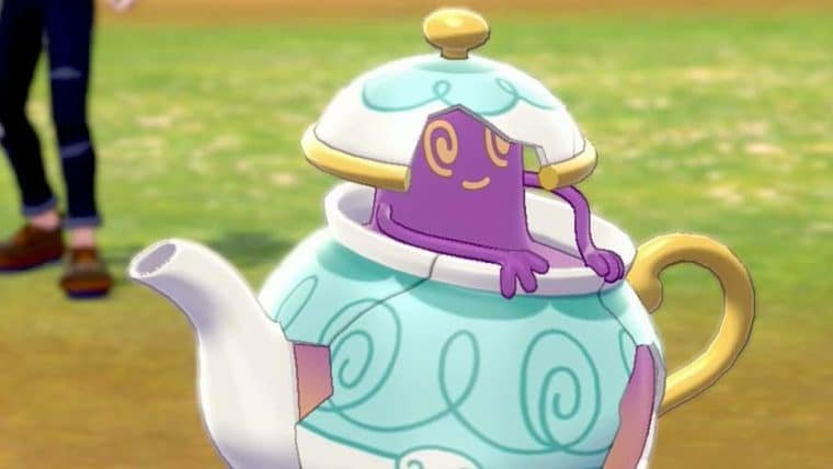 Pokémon Sword & Shield | Sinistea e Polteageist podem ser legítimos ou falsificados