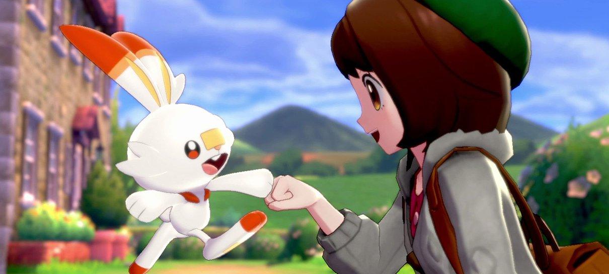 Primeiros reviews divulgados de Pokémon Sword & Shield são positivos