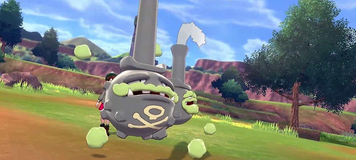 Bug em Pokémon Sword & Shield pode corromper arquivos do Micro SD