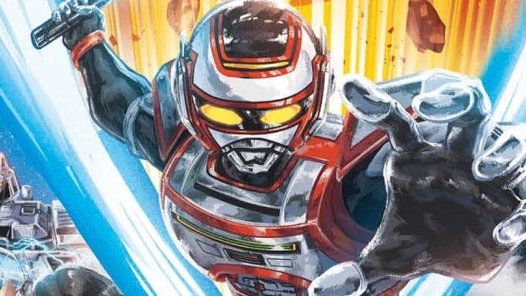 O Regresso de Jaspion | Manga brasileiro do herói ganha capa e detalhes