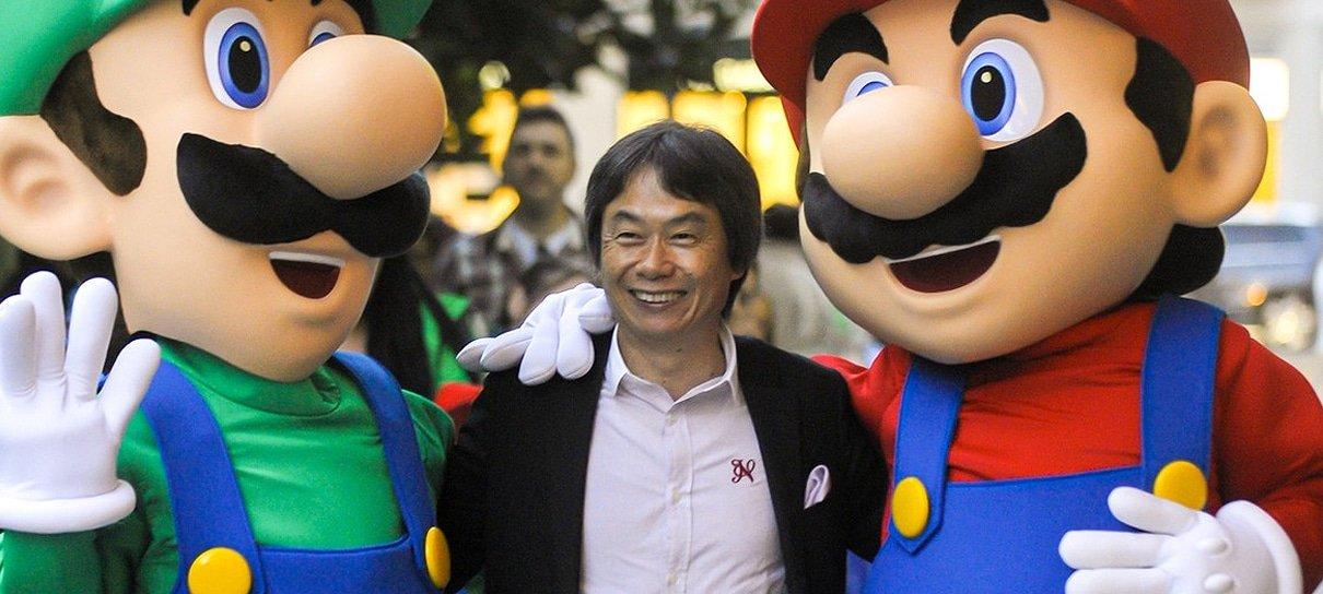 Shigeru Miyamoto sugere como a Nintendo poderia competir com a Disney