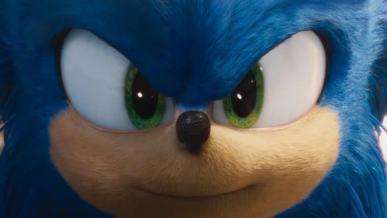 Sonic: O Filme revela o novo visual do ouriço em trailer inédito