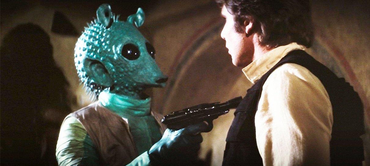 Star Wars | Cena de Han Solo com Greedo no Disney+ foi editada pelo próprio George Lucas
