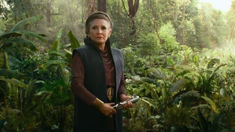 Star Wars: A Ascensão Skywalker | Teaser mostra Leia com o sabre de sua família