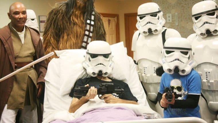 Fã em estado terminal assiste a Star Wars: A Ascensão Skywalker antes da estreia
