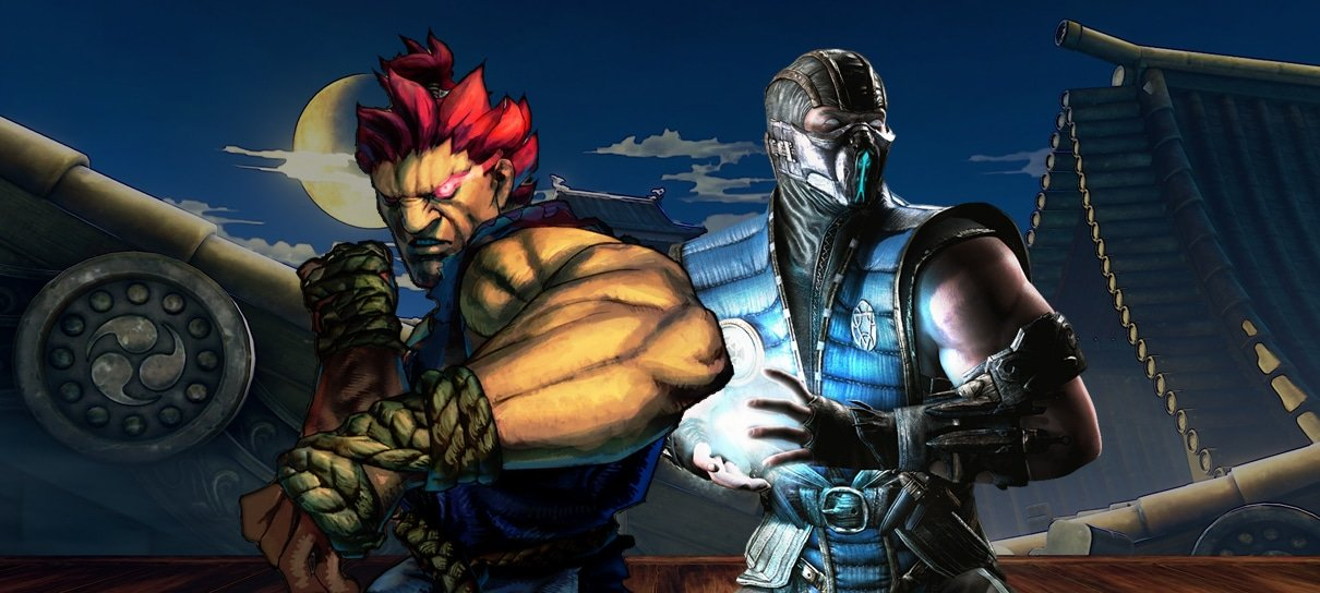 Capcom rejeitou proposta de colocar personagem de Street Fighter em Mortal Kombat