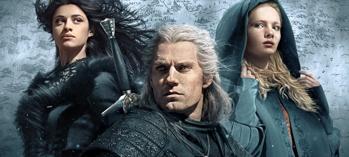 The Witcher | Geralt, Yennefer e Ciri se destacam em novo pôster