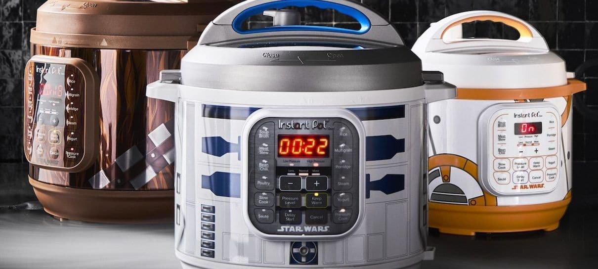 Star Wars ganha linha de panelas elétricas para o lado comilão da Força