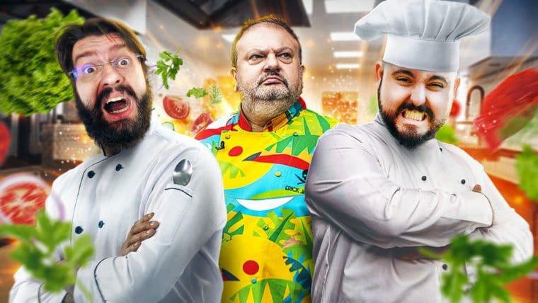 Cooking Simulator - A Vergonha da profissão