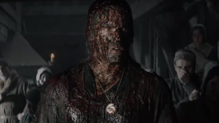 Arte conceitual da série de The Witcher revela monstro que engoliu Geralt no 4º episódio