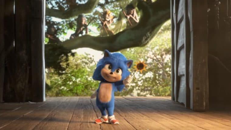 Sonic: O Filme | Trailer japonês traz versão bebê do Sonic