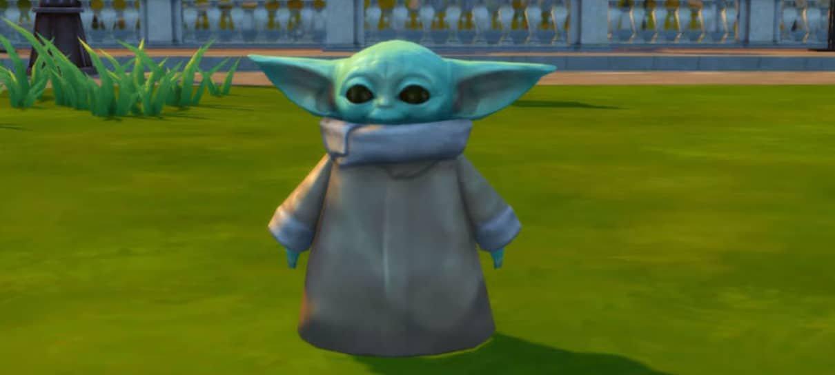 Baby Yoda está disponível para compra em The Sims 4