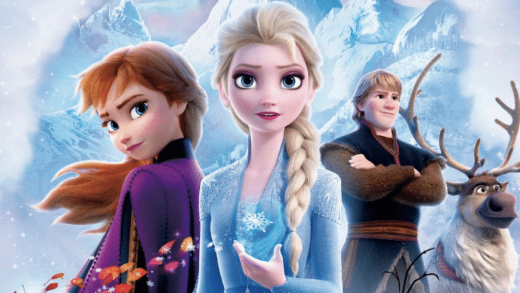 Frozen 2 se mantém no topo das bilheterias dos EUA pela terceira semana seguida