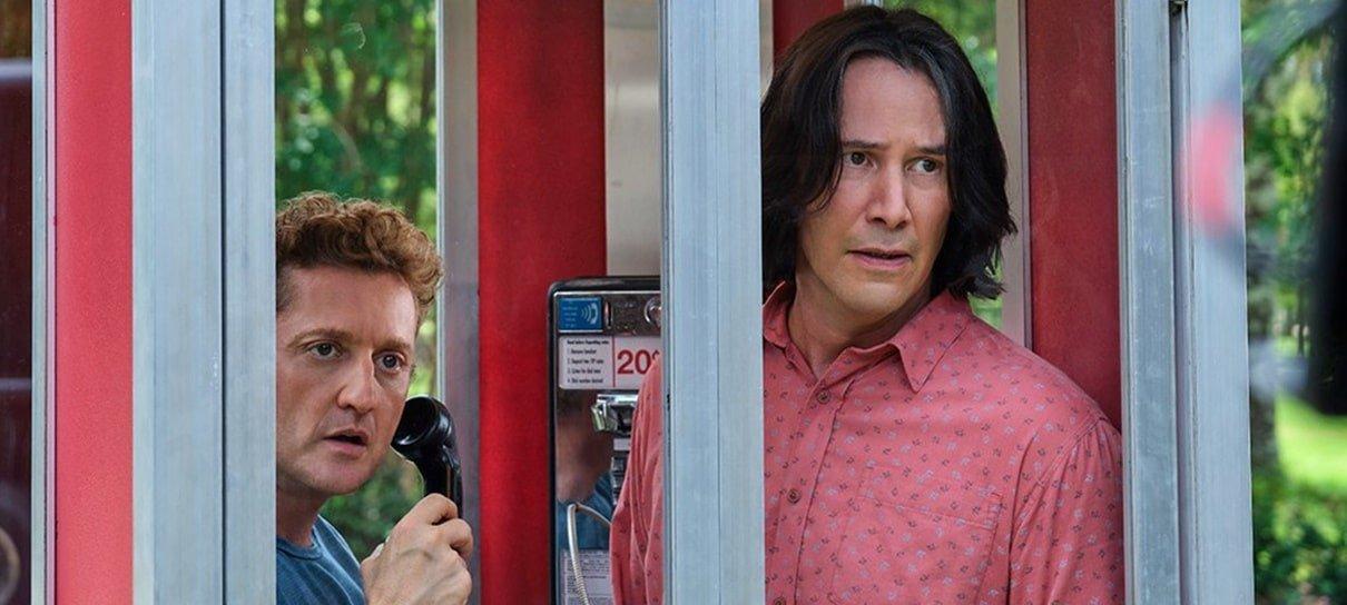 Bill & Ted 3 ganha primeiras imagens mostrando o visual de Keanu Reeves
