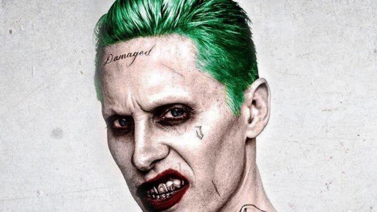 Diretor de Esquadrão Suicida publica foto assustadora do teste de maquiagem do Coringa