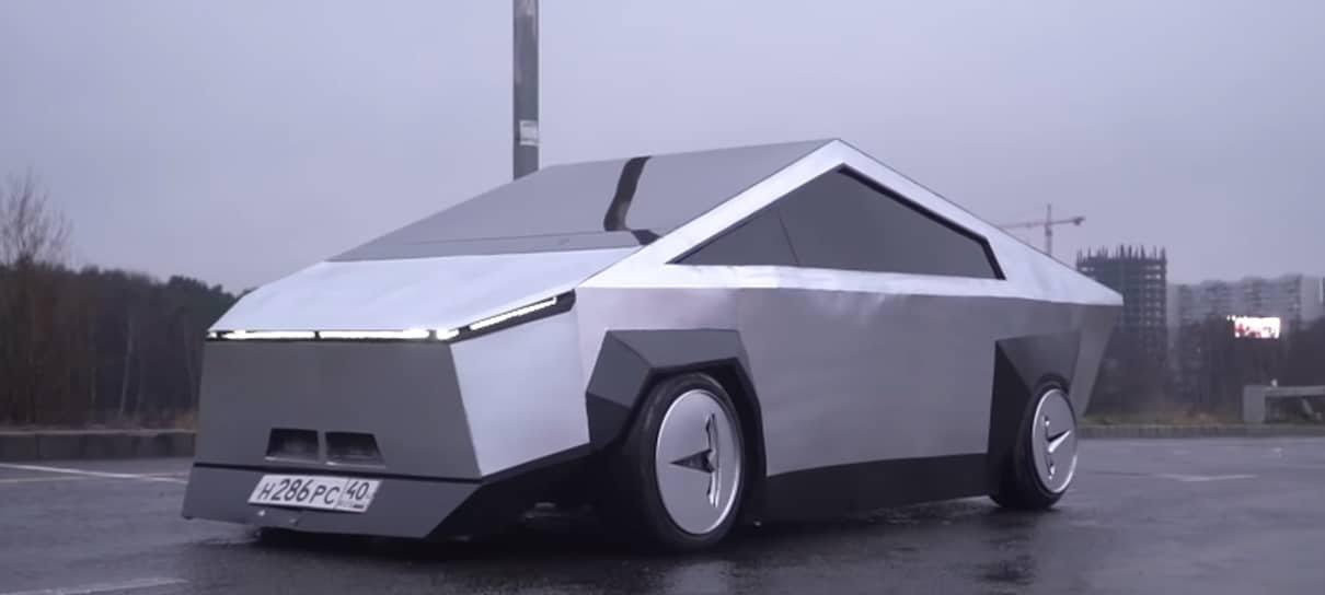 Russos criam uma versão alternativa do Cybertruck