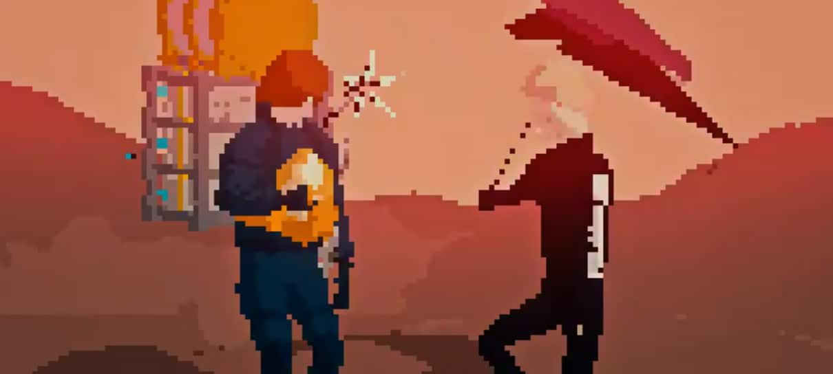Death Stranding   Artista brasileiro imagina jogo com visual retrô